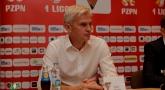 Konferencja prasowa po meczu z Górnikiem