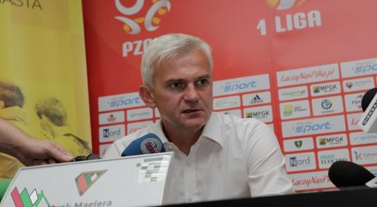 Konferencja po meczu w Katowicach