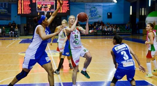 Galeria zdjęć z meczu koszykarek