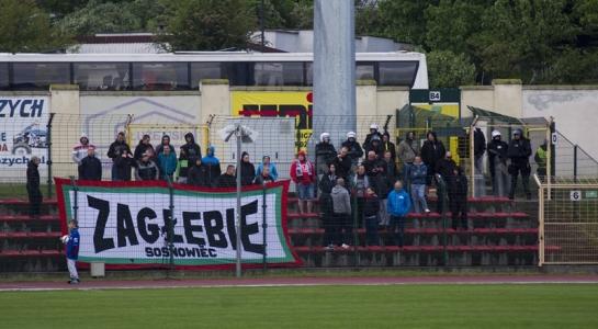 Zdjęcia z meczu w Chojnicach