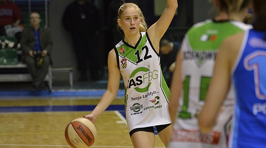 Koszykówka: JAS-FBG - AZS Poznań 60:54 (galeria zdjęć)