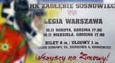 Hokej: Zagłębie - Legia 7:1
