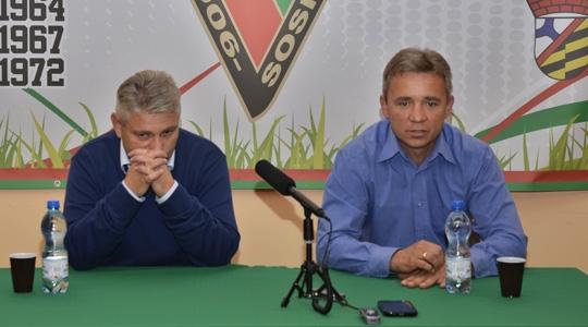 Konferencja prasowa po meczu Zagłębie - Okocimski