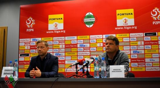 Konferencja prasowa po meczu w Radomiu